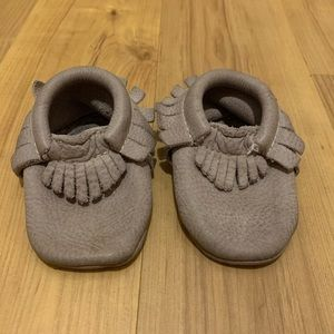 Gray Freshly Picked Moccs